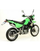 ARROW EXHAUST SYSTEMS FOR KAWASAKI KLR 650 '01 / 05