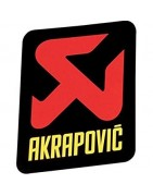 ESCAPE SYSTEMS OF THE SLOVAK AKRAPOVIC BRAND.